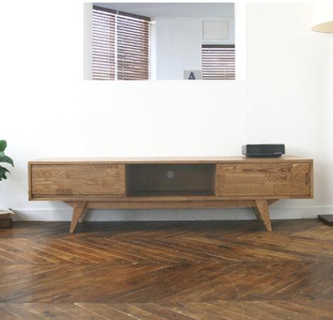 에쉬 물푸레나무 1600~1800mm TV 거실장