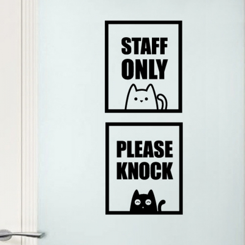 [리빙스티커]Staff Only-IV(LIS)