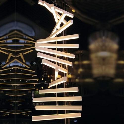 LED 윌로우 펜던트 16등-수직형(96W)