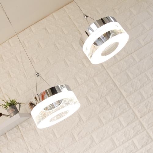 LED 비스킷 2등 팬던트