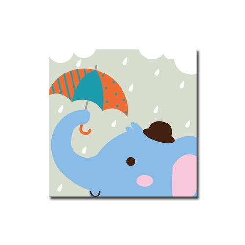 DIY 명화그리기 _ [C39] 우산속 코끼리