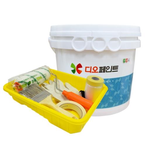 [베란다리폼세트] 결로/곰팡이방지페인트 세라믹플러스 4L +도구세트