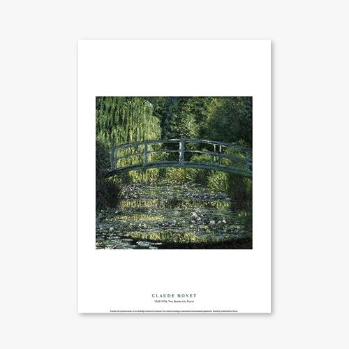 [명화포스터] The Water-Lily Pond - 클로드 모네 001