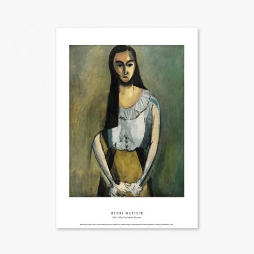 [명화포스터] The Italian Woman - 앙리 마티스 024