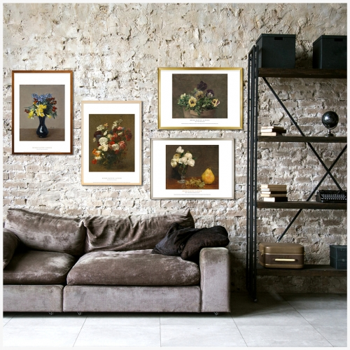 [에이블밤부] 인테리어 명화 포스터 앙리 팡탱 라투르 48종