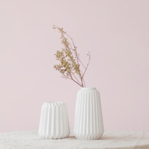 도로시 화이트 꽃병