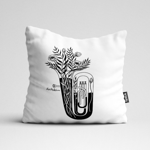 인테리어 쿠션 The Tuba by김나래(250342)