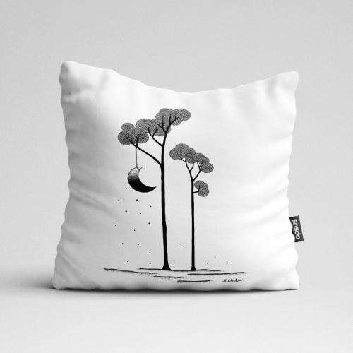 인테리어 쿠션 The Moon Trees by김나래(250028)