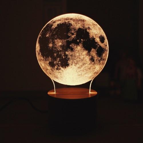 룩앳램프 보름달 (Look at Lamp - Fullmoon)