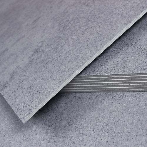 3T접착식 데코타일 (TL-03) 무광 콘크리트 딥그레이_간편시공 스티커형