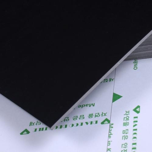 3T접착식 사각데코타일(TL-14) 무광 민자블랙_간편시공 스티커형