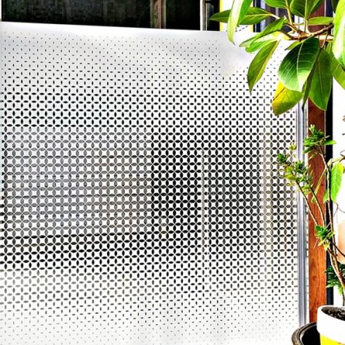 UV차단 창문시트지 다이아 센터그라데이션 (HPU-89003)