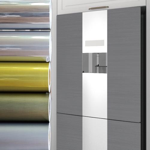 메탈릭 냉장고 싱크대 가구 인테리어시트