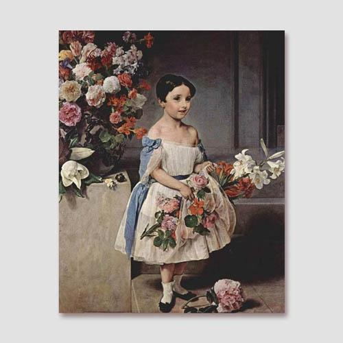 CAS196-OD-13-프란체스코 하예즈-모로시니의 어린 시절 초상