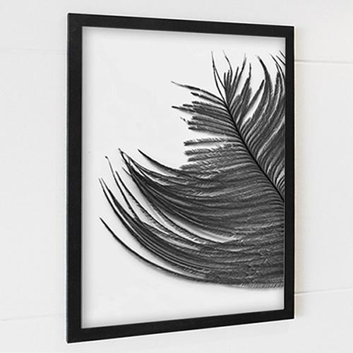 FA197 천상의 날개깃 5 [feather] -세로 모던액자 북유럽풍액자